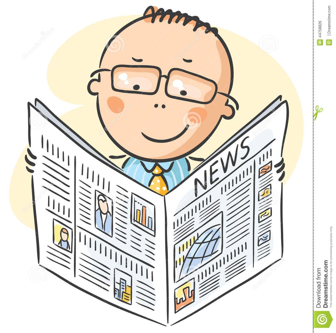 man-glasses-reading-newspaper-cartoon-44758826
